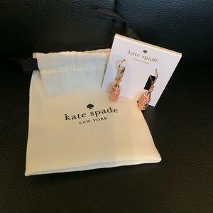 Kate Spade champagne bottle earrings